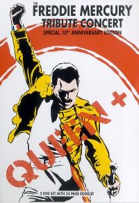 Cover Queen + - The Freddie Mercury Tribute Concert [DVD]